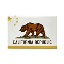 Official State Flag of CalChina S.A.R. Magnets