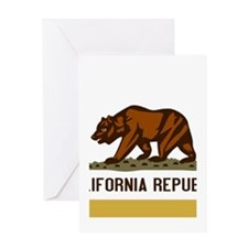 Official State Flag of CalChina S.A.R. Greeting Ca