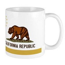 Official State Flag of CalChina S.A.R. Mugs