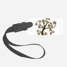 Puzzled Tree of Life Luggage Tag