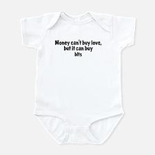 blts (money) Infant Bodysuit