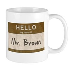 Reservoir Dogs Mr. Brown Mug Mugs