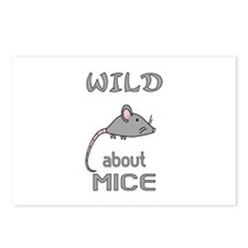 Wild About Mice Postcards (Package of 8)
