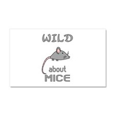 Wild About Mice Car Magnet 20 x 12