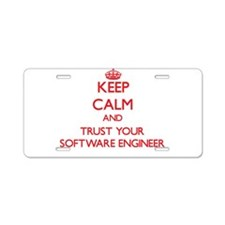 Keep Calm and trust your Software Engineer Aluminu
