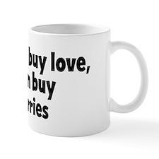 blackberries (money) Mug