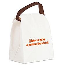 Fatherhood Canvas Lunch Bag