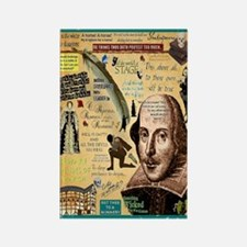 Shakespeare Rectangle Magnet Magnets
