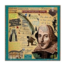 Shakespeare Tile Coaster