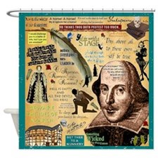 Shakespeare Shower Curtain