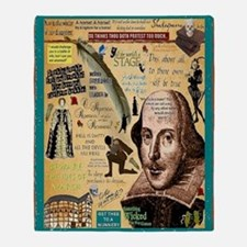 Shakespeare Throw Blanket