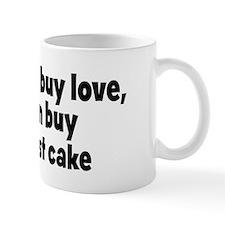 black forest cake (money) Mug