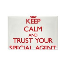 Keep Calm and trust your Special Agent Magnets