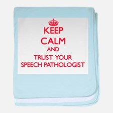 Keep Calm and trust your Speech Pathologist baby b