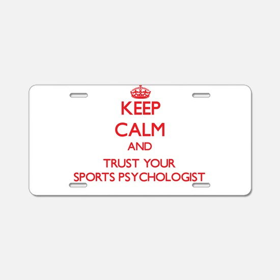 Keep Calm and trust your Sports Psychologist Alumi