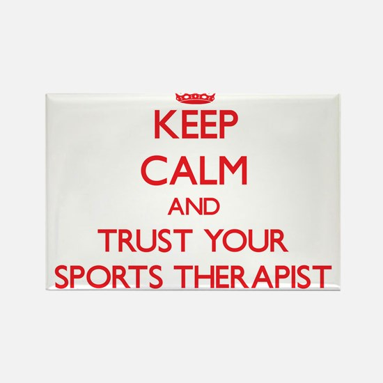 Keep Calm and trust your Sports Therapist Magnets