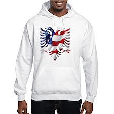 Albanian American Eagle Hoodie