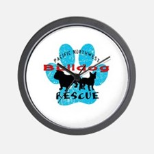 Pacific NW Bulldog Rescue Wall Clock