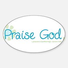 praise-god Decal