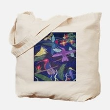 Hummingbird Mosaic Tote Bag