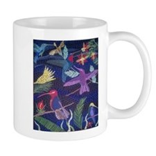 Hummingbird Mosaic Mugs