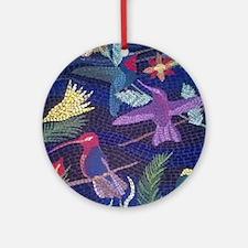 Hummingbird Mosaic Ornament (Round)