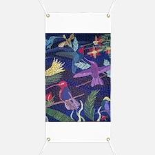 Hummingbird Mosaic Banner