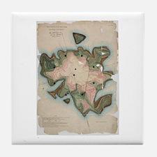 Minots Ledge Tile Coaster