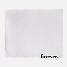 forever Twilight Throw Blanket