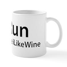 iRun because iLikeWine Mug