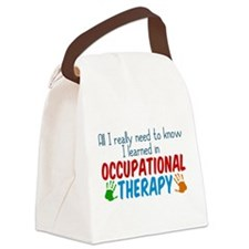 Cute OT Canvas Lunch Bag