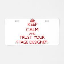 Keep Calm and trust your Stage Designer Aluminum L