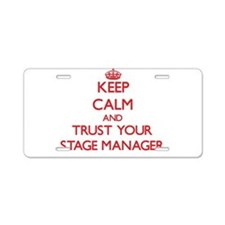 Keep Calm and trust your Stage Manager Aluminum Li