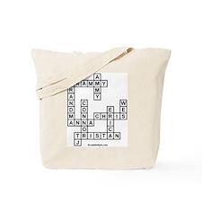 Tristan Scrabble-Style Tote Bag
