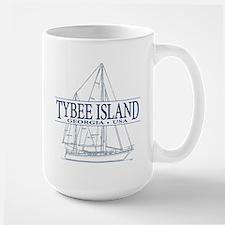 Tybee Island - Large Mug