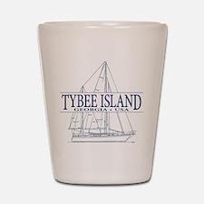 Tybee Island - Shot Glass