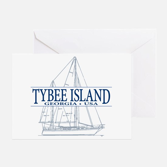 Tybee Island - Greeting Card