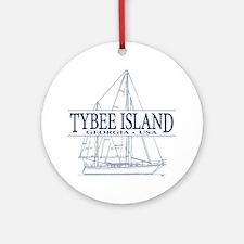 Tybee Island - Ornament (Round)