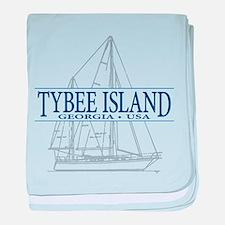 Tybee Island - baby blanket
