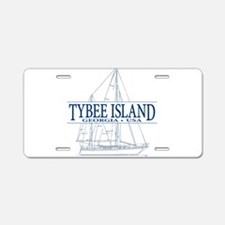 Tybee Island - Aluminum License Plate