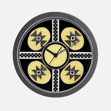 MIMBRES SUGAR BOWL DESIGN Wall Clock