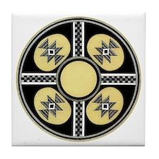 MIMBRES SUGAR BOWL DESIGN Tile Coaster