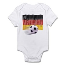 Soccer Flag Germany Infant Bodysuit
