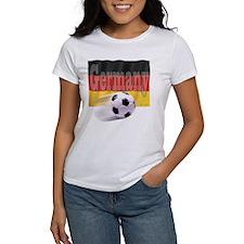 Soccer Flag Germany Tee