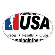 Unique Running in the usa race results clubs Decal