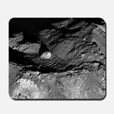 Summit Tycho Crater Central Peaks On Ear Mousepad