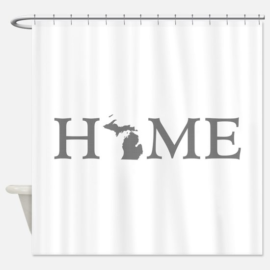 Michigan Home Shower Curtain