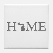 Michigan Home Tile Coaster