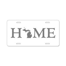 Michigan Home Aluminum License Plate