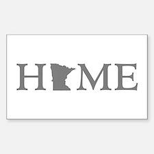 Minnesota Home Sticker (Rectangle)